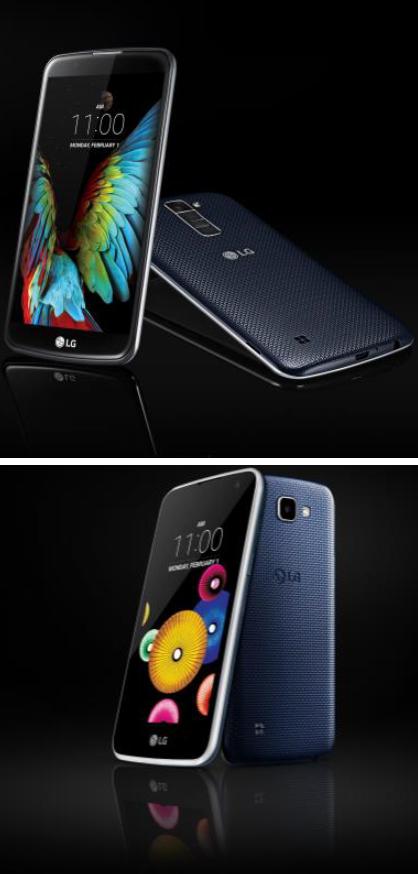 LG, la commercialisation  de la K series a commencé