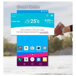 LG d�voile sa derni�re interface utilisateur mobile LG UX 4.0
