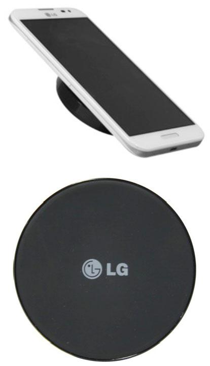 LG dévoile un petit chargeur sans fil