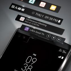 LG V30 : l'écran secondaire aurait potentiellement droit à des fonctions différentes