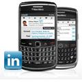 LinkedIn, le r�seau social pour les professionnels,  d�barque sur BlackBerry