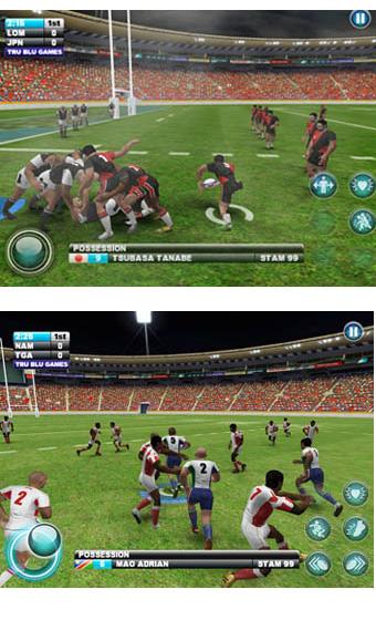 Lomu Rugby Challenge Gold Edition est disponible sur iPhone