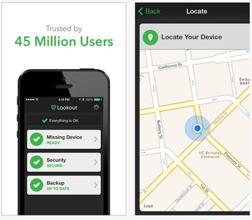 Lookout pour iOS est désormais disponible en français