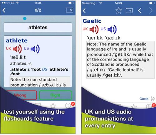 Maîtrisez votre prononciation prononciation anglaise sur IOS et Android