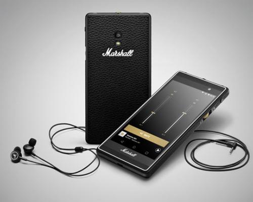 Marshall Headphones lance London, son premier smartphone