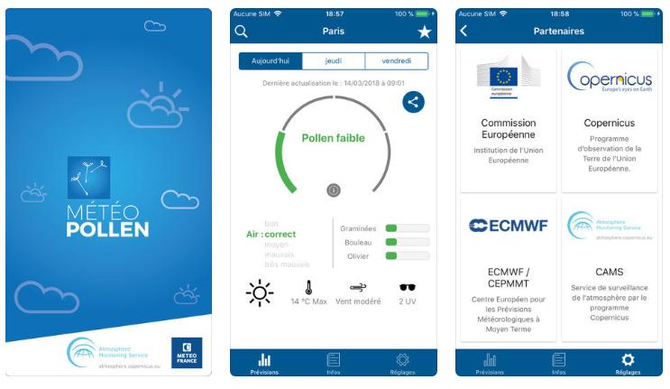 Météo Pollen : une application qui donne les prévisions de pollen en France