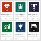 Microsoft propose cinq applications MSN sur iOS et Android