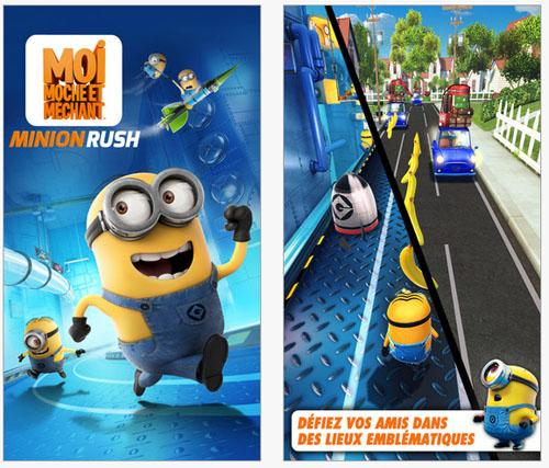 Moi, Moche et Méchant : Minion Rush arrive sur iPhone and Android