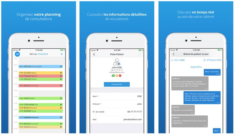 MonDocteurPro, une application mobile dédiée aux professionnels de santé