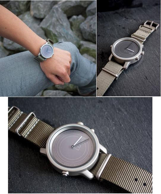 LunaR, une montre inspirée par la lune et alimentée par le soleil