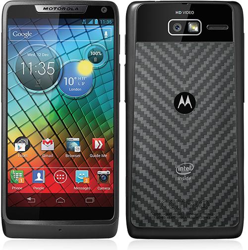Motorola lance le RAZR i doté de la technologie Intel Inside