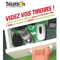 Motorola organise une collecte de recyclage de mobiles usagés au profit du Téléthon 2008