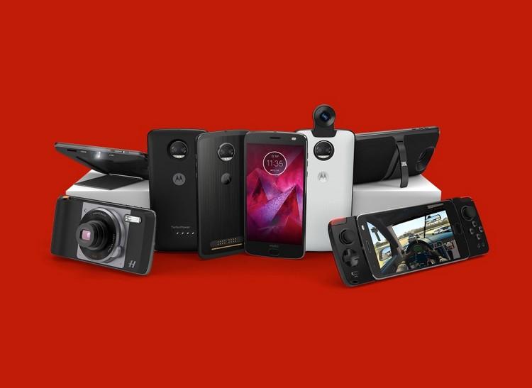 Motorola dévoile le Moto Z2 Force