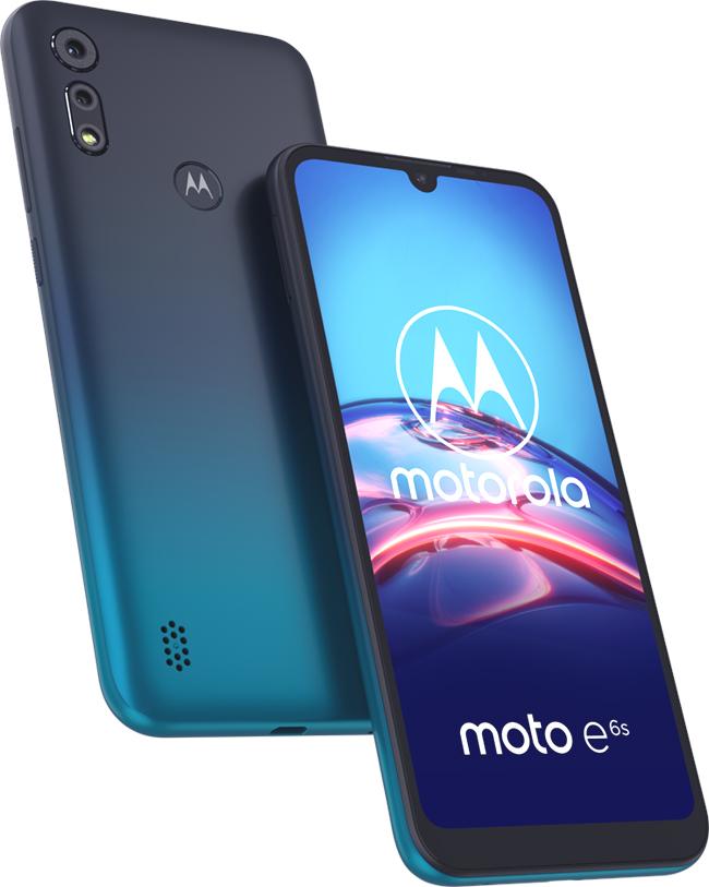 Motorola présente son nouveau moto e6s
