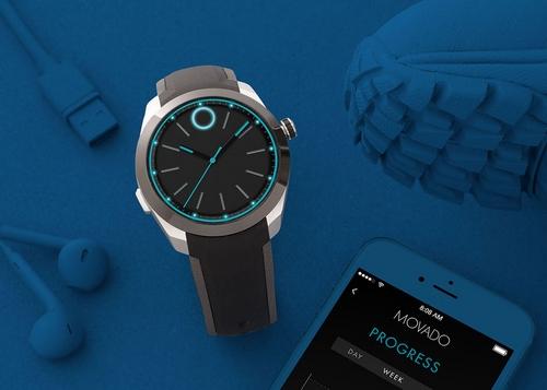 Movado Bold Motion : une montre de luxe connectée en partenariat avec HP
