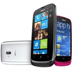 MWC 2012 : Nokia dévoile le Lumia 610