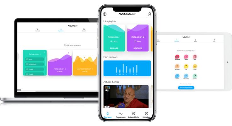 Neural Up, une application qui permet de gérer son stress en quelques minutes