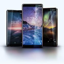 Nokia : cinq nouveaux téléphones sont présentés au MWC 2018