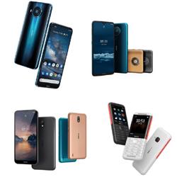 Nokia dévoile son smartphone 5G ainsi que 3 autres smartphones d'entrée de gamme