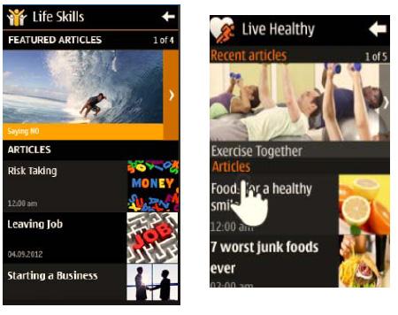 Nokia lance Nokia Life+