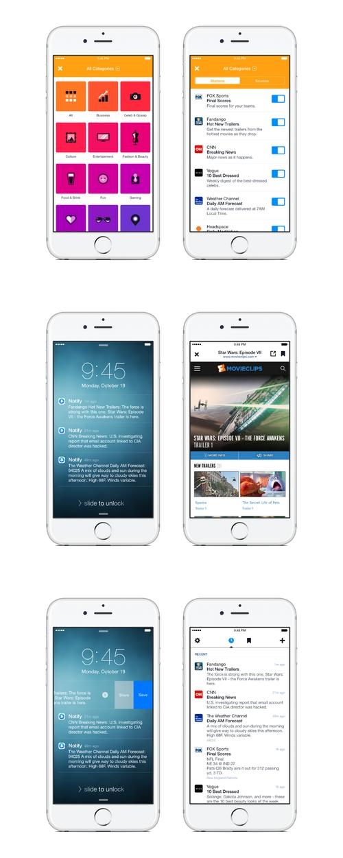 Notify : la nouvelle application de Facebook arrive sur l'App Store