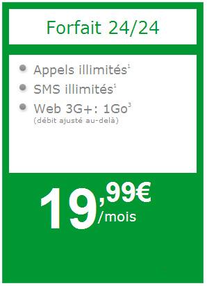 NRJ Mobile lance son forfait Wiki 24/24 avec appels, SMS illimités et 1Go de Web 3G+