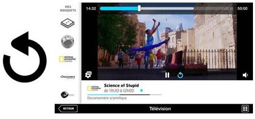 Les 5 chaînes de France Télévision sont disponibles sur les applications LaBox TV et SFR TV
