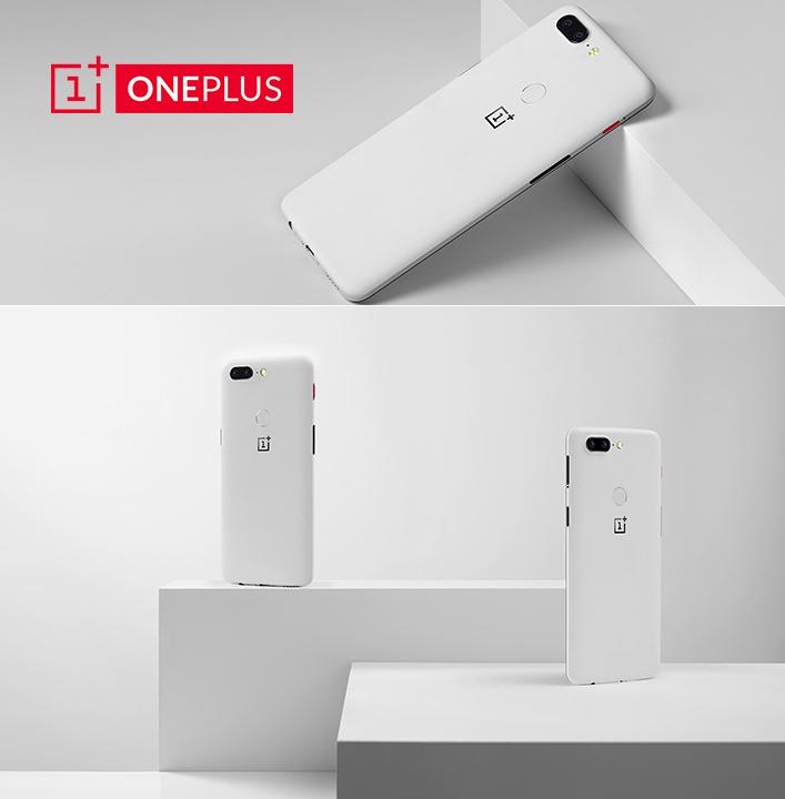 OnePlus dévoile son OnePlus 5T Sandstone White en édition limitée