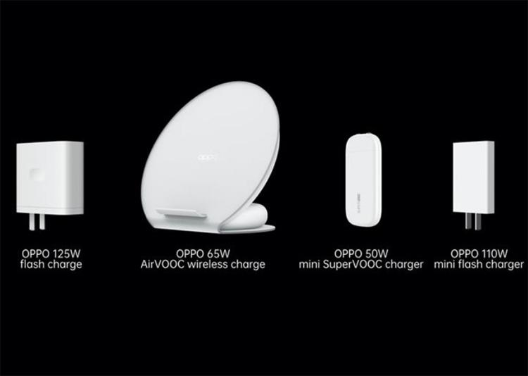 Oppo dévoile ses dernières innovations de charge ultra rapide