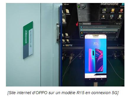 Oppo : les premiers smartphones 5G débarquent en 2019