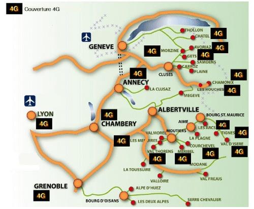 Orange lance la 4G dans les stations de ski de Savoie et Haute Savoie