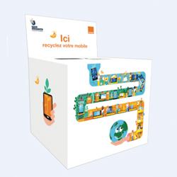 """Orange lance son programme """" re """", pour accélérer le recyclage, la reprise et le reconditionnement des mobiles"""