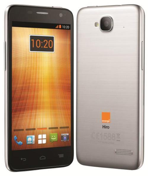 Orange lance son smartphone Hiro en France