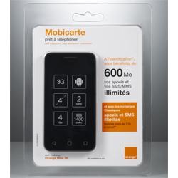 Orange Rise 30, un smartphone Orange vendu en libre-service