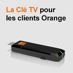 Orange va proposer à ses clients une Clé TV à 39€