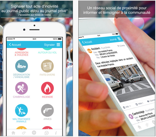 Osagir, une application pour lancer des alertes en cas d'incident