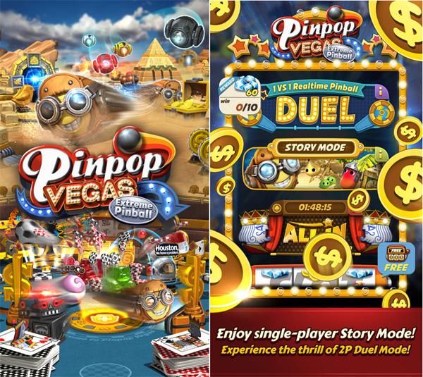 Pinpop VEGAS: Extreme Pinball débarque sur les mobiles iOS et Android