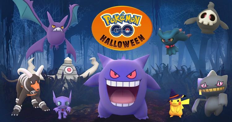 Pokémon GO : Niantic confirme l'évènement d'Halloween et l'introduction d'une première vague de Pokémon de 3e génération