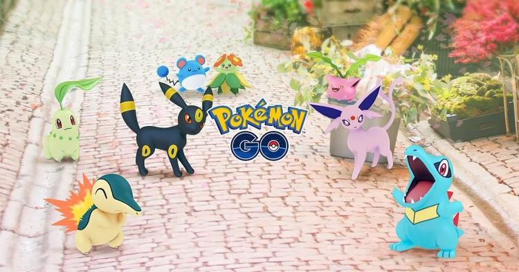 Pokémon GO : la deuxième génération de Pokémon fait son entrée cette semaine