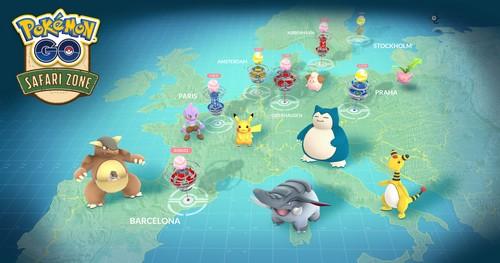 Pokémon GO : Les Safari Zones prennent du retard en Europe