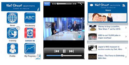 Pratiquez l'anglais gratuitement à tout moment depuis un mobile Android