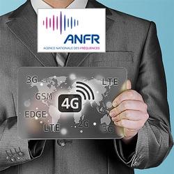 Près de 46 500 sites 4G autorisés par l'ANFR en France au 1er juin 2019