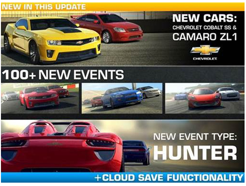 Real Racing 3 lance sa première mise à jour de contenu