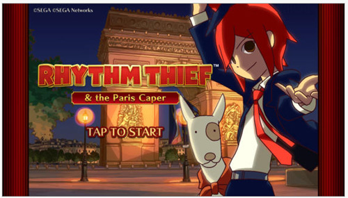 Rhythm Thief & The Paris Caper : Menez votre enquête sur iPhone