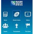 RIM lance une version optimisée de l'application Official Rugby World Cup 2011