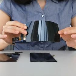 Samsung a mis au point un écran Oled flexible et incassable