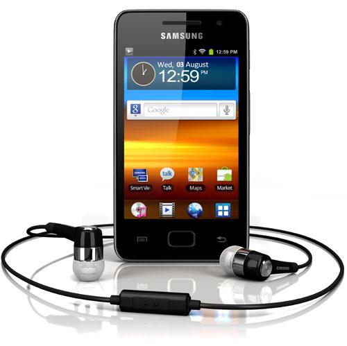 Samsung complète sa gamme de lecteurs multimédia sous Android avec le Samsung Galaxy S WiFi 3.6