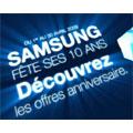 Samsung fête ses 10 ans : un mobile acheté, un mobile gratuit