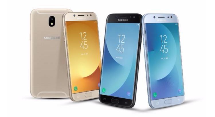 Samsung Galaxy J 2017 : les J3, J5 et J7 enfin dévoilés
