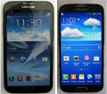 Samsung Galaxy Note 2 vs Samsung Galaxy S4 : quels sont leurs atouts ?